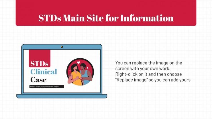 STDs Clinical Case presentation template