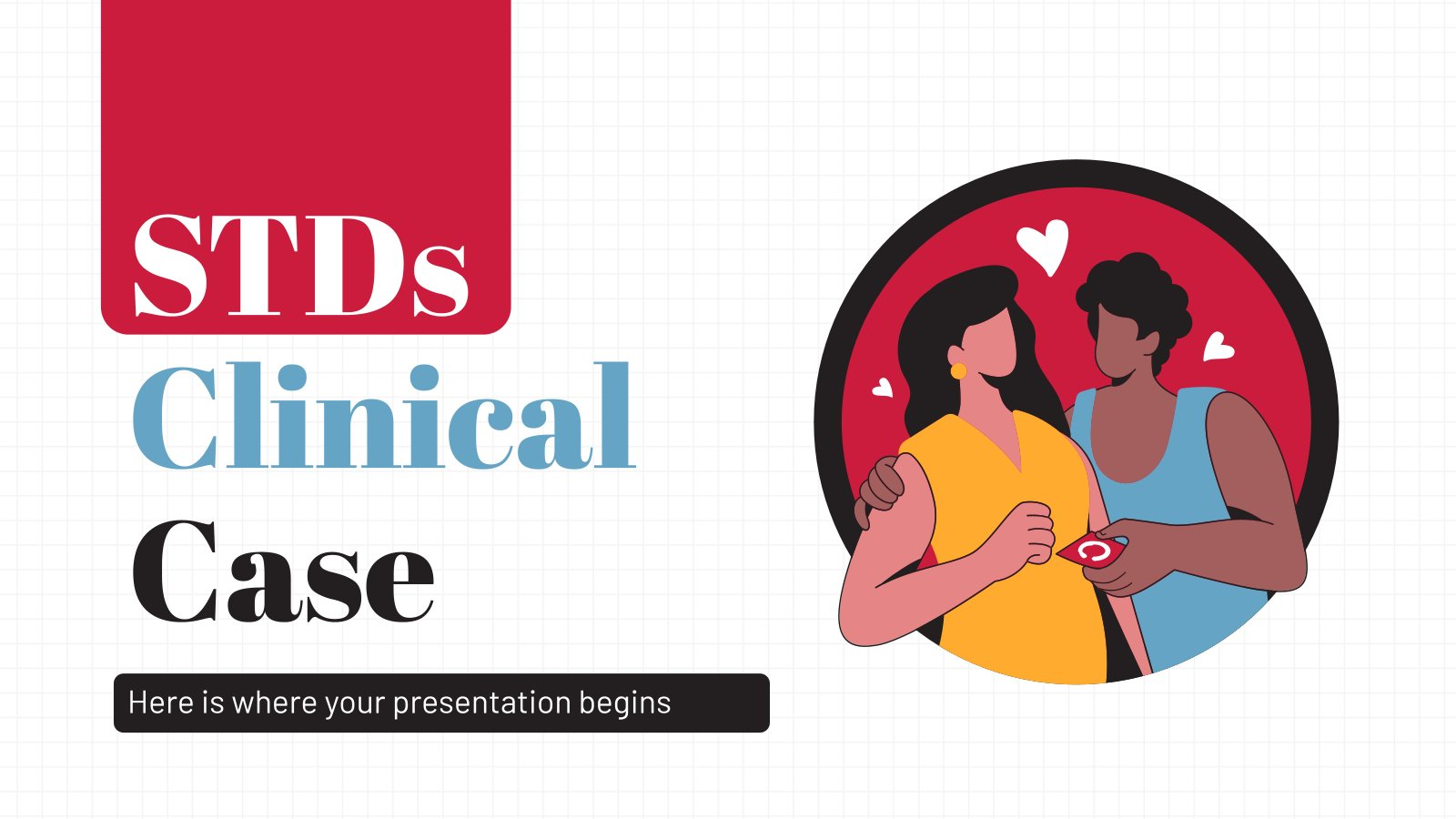 STDs Clinical Case presentation template