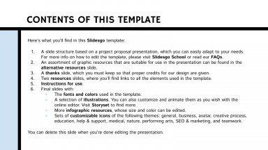HVAC Project Proposal presentation template