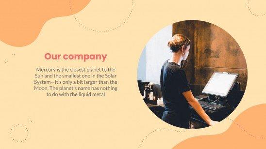 Adopt A Restaurant Business Plan presentation template