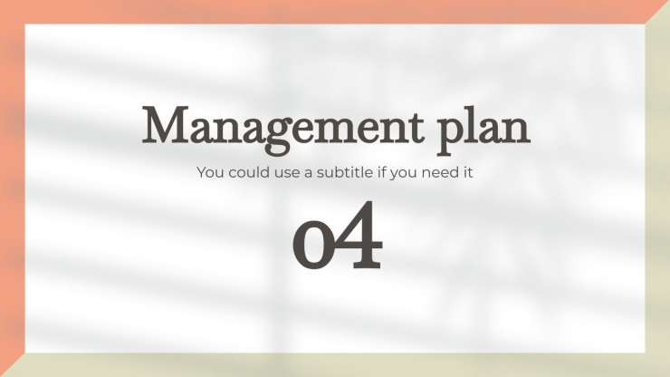 Everyday Business Planner presentation template