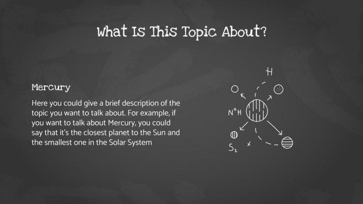 Plantilla de presentación Clase de química