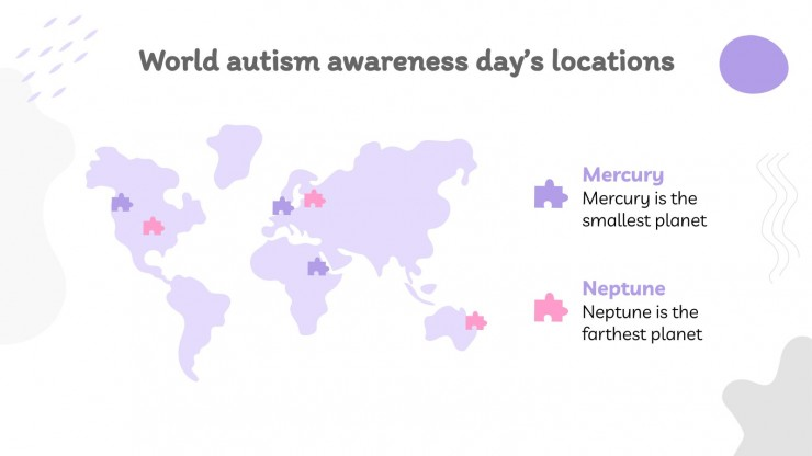 World Autism Awareness Day presentation template