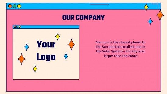 Plantilla de presentación Campaña virtual