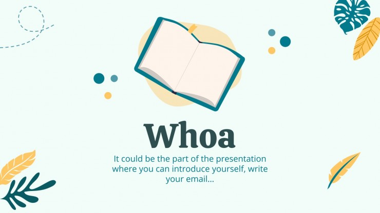 Great Poetry Reading Day presentation template