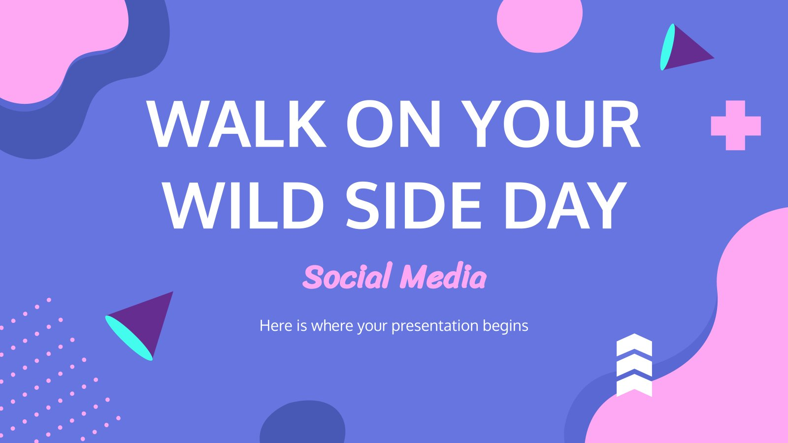 Walk on the Wild Side presentation template