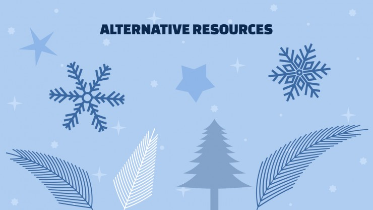 Plantilla de presentación Propuesta de rebajas de invierno