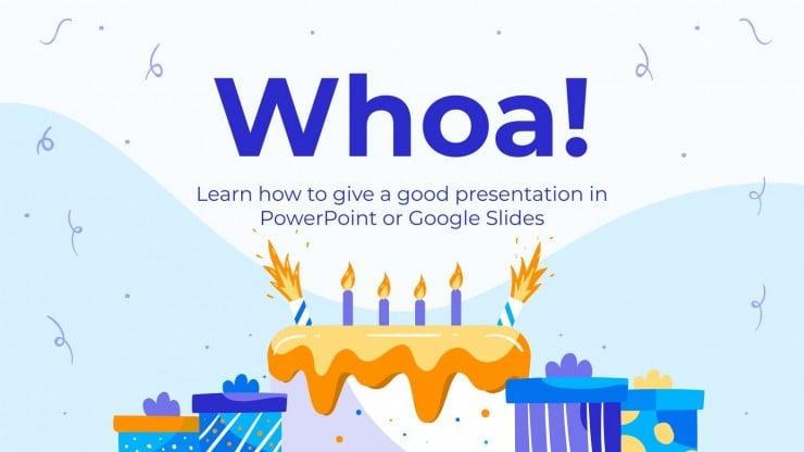 Happy 2nd Birthday presentation template
