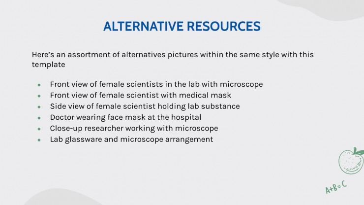 Avancée en biologie : Modèles de présentation