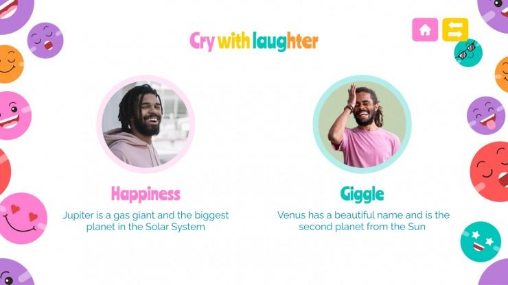 Modelo de apresentação Dia Internacional do Riso
