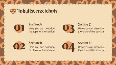 Brezel Ursprünge und Rezepte presentation template