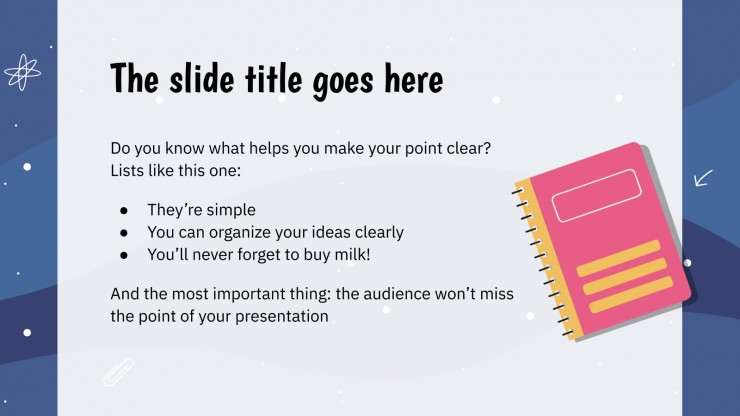 High School Lesson presentation template