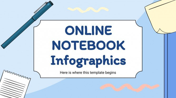 Online Notebook Infographics
