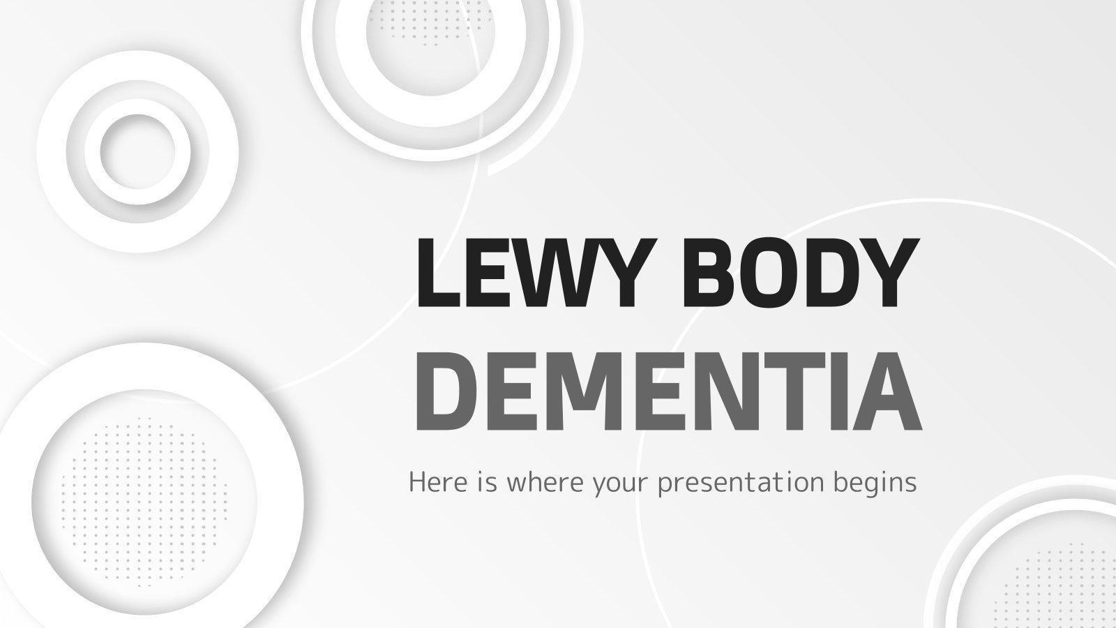 Lewy Body Dementia presentation template