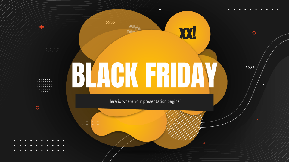 Black Friday presentation template