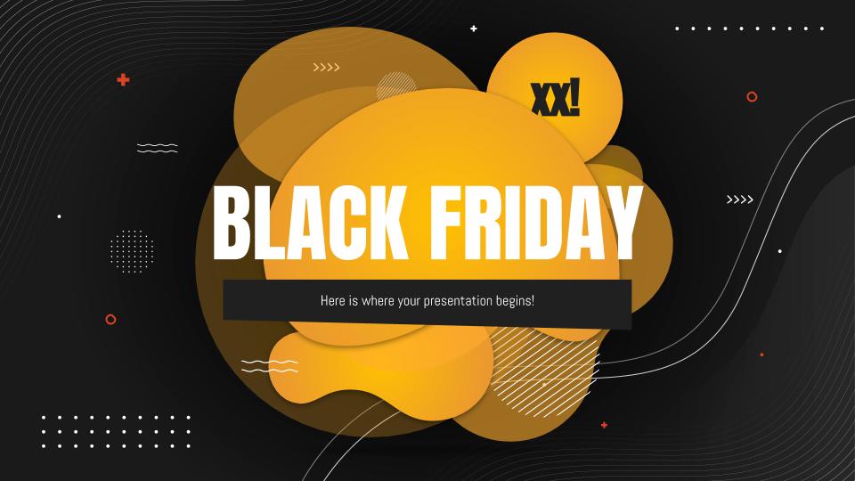 Black Friday : Modèles de présentation