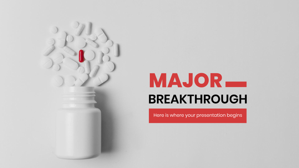 Major Breakthrough presentation template