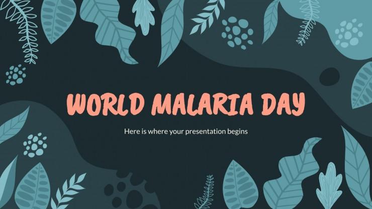 World Malaria Day presentation template