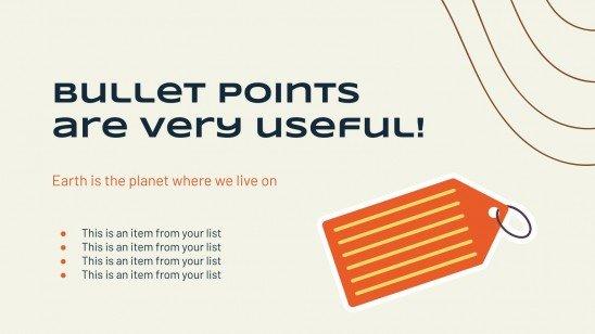 Plan marketing simple et personnalisé : Modèles de présentation
