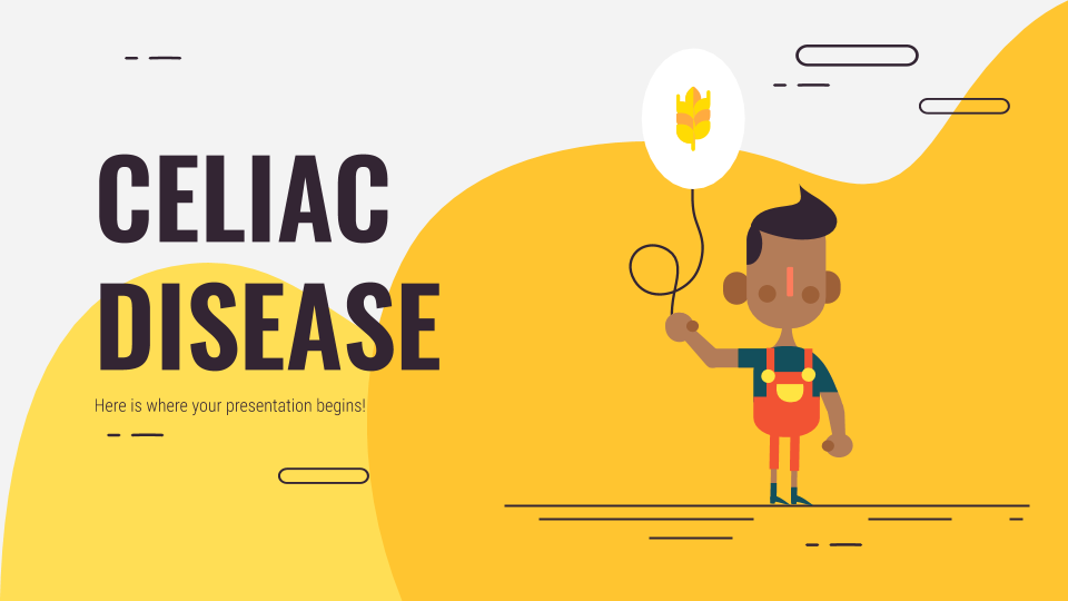 Celiac Disease presentation template