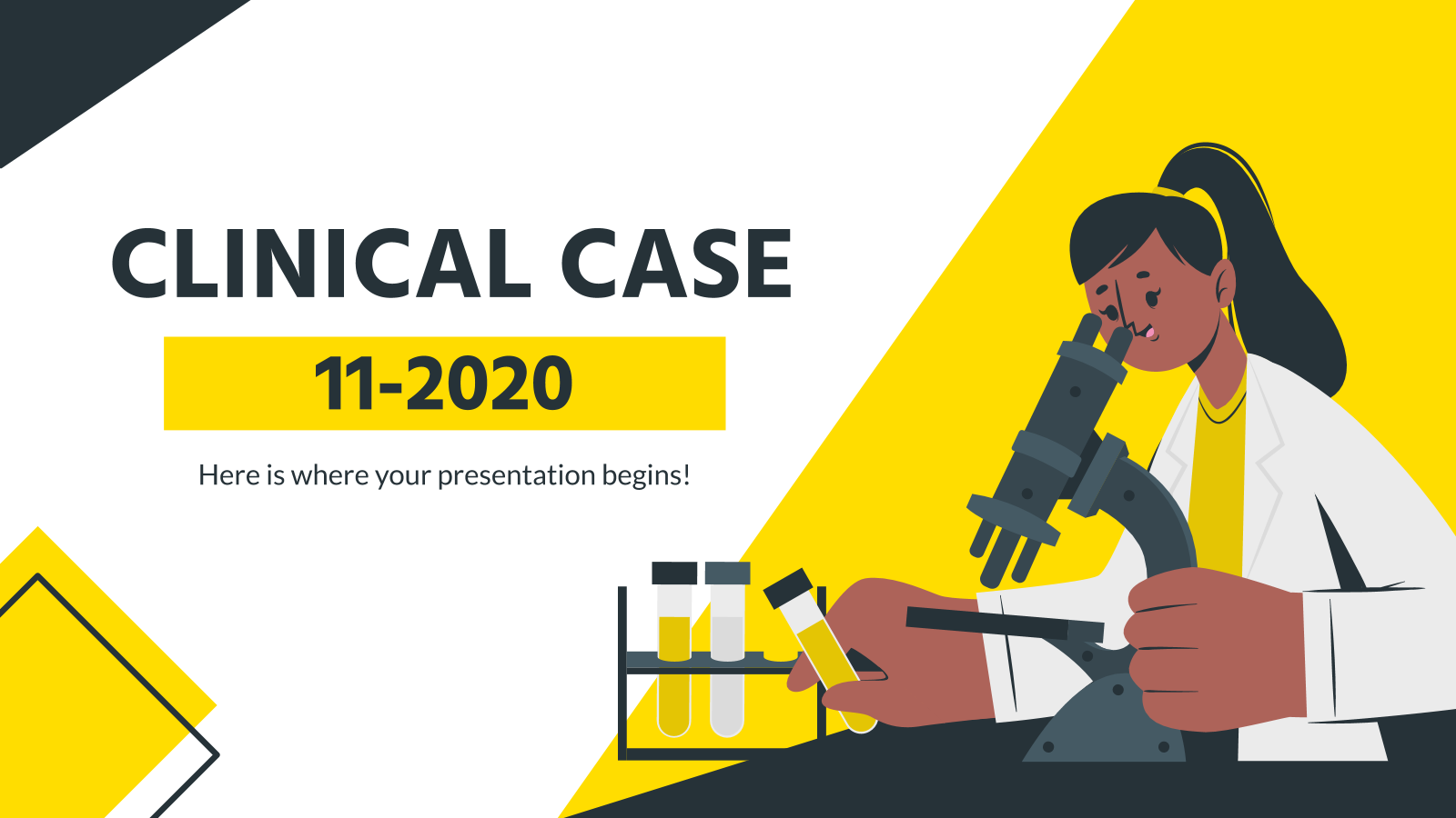 Clinical Case 11-2020 presentation template