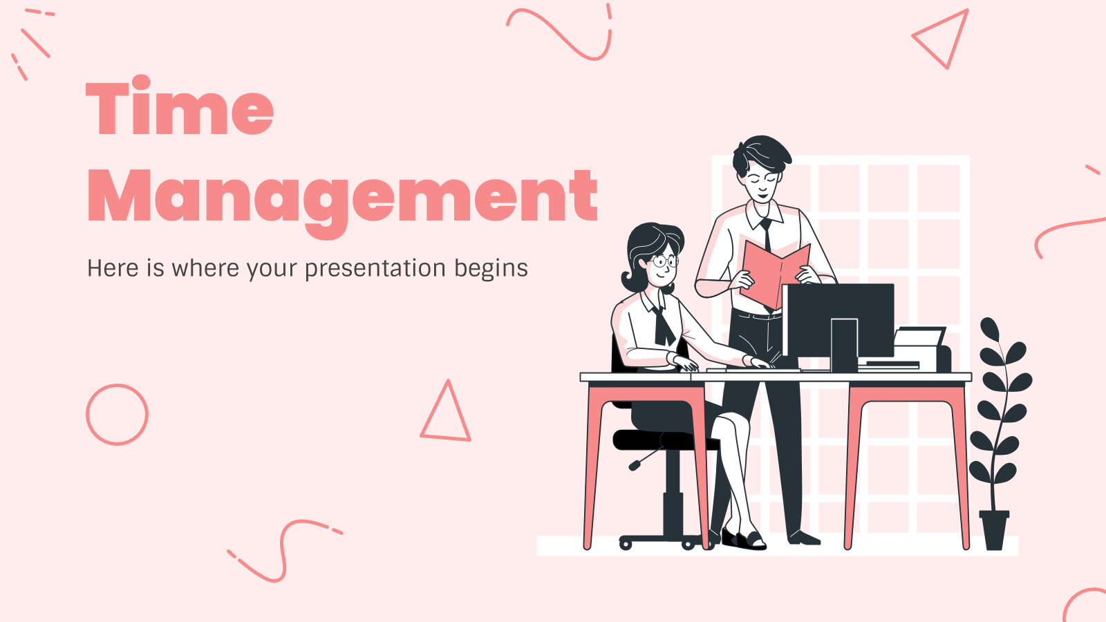Time Management presentation template