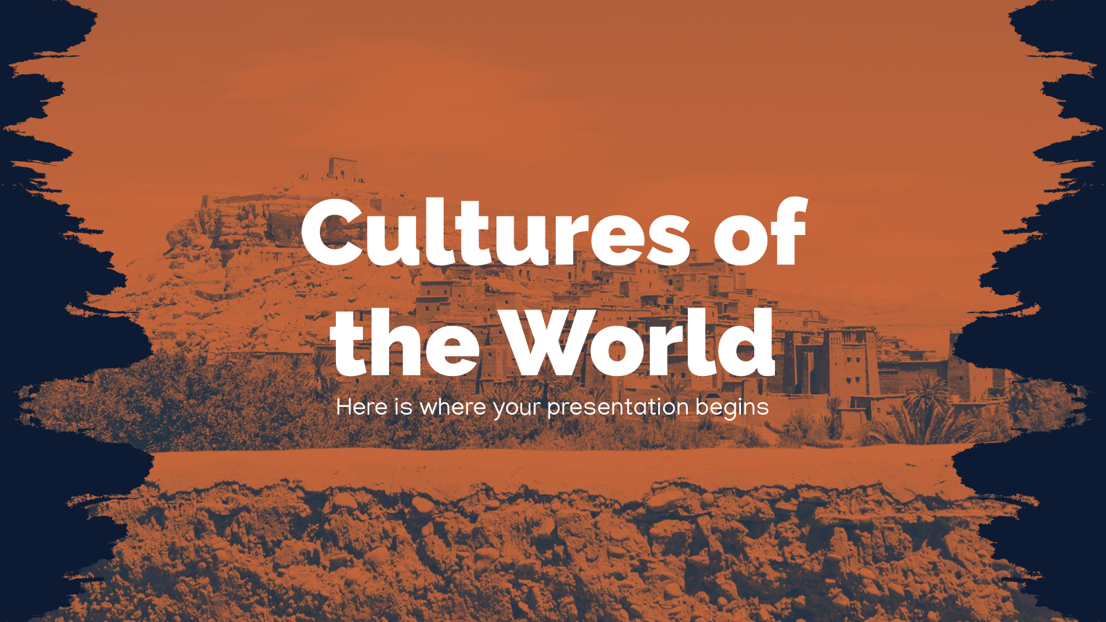 Cultures of the World presentation template