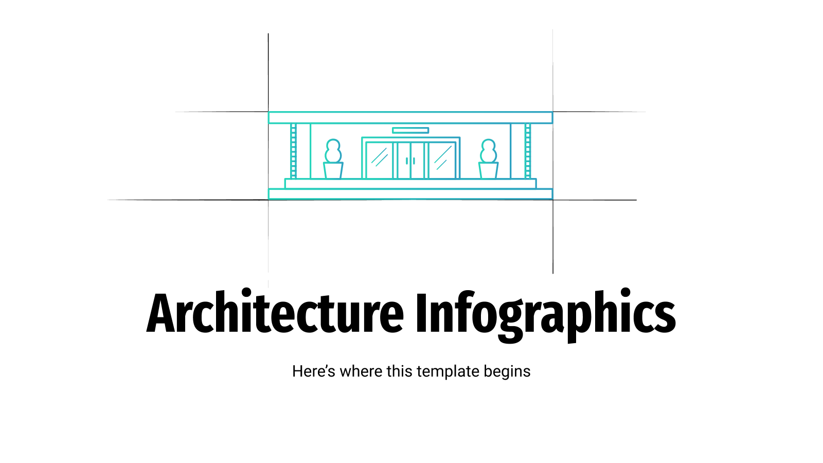Architecture Infographics presentation template