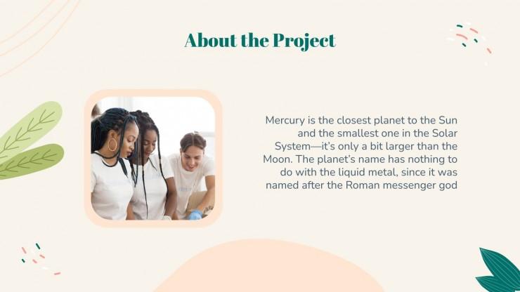 Journée des bénévoles : Modèles de présentation