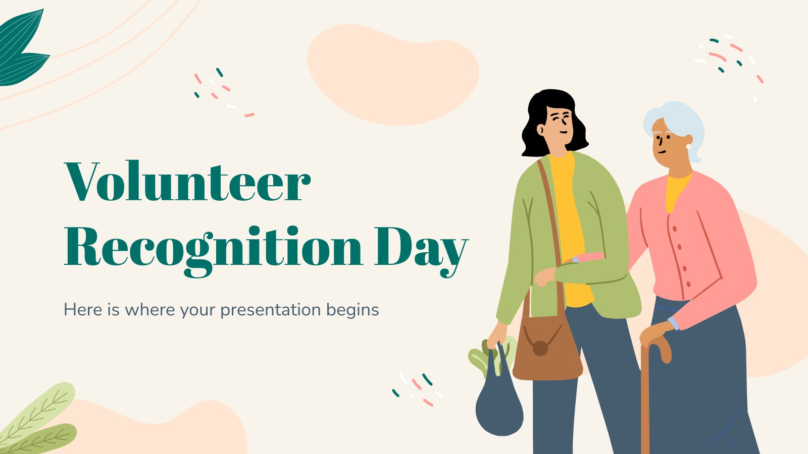 Volunteer Recognition Day presentation template