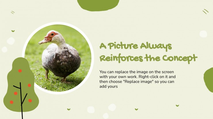 Journée des animaux de la ferme : Modèles de présentation