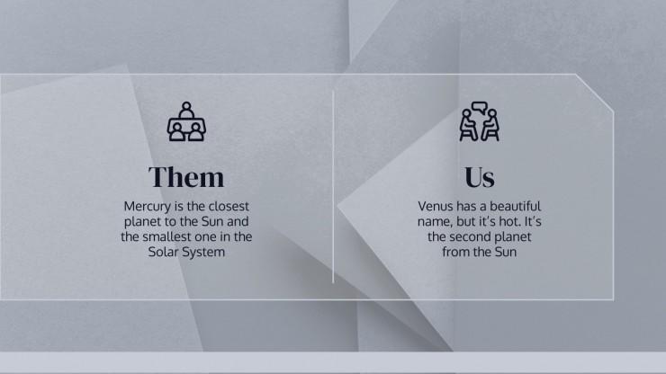 General Custom Pitch Deck presentation template