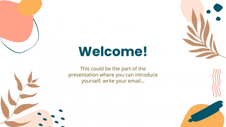 Virtual Classroom Kit presentation template