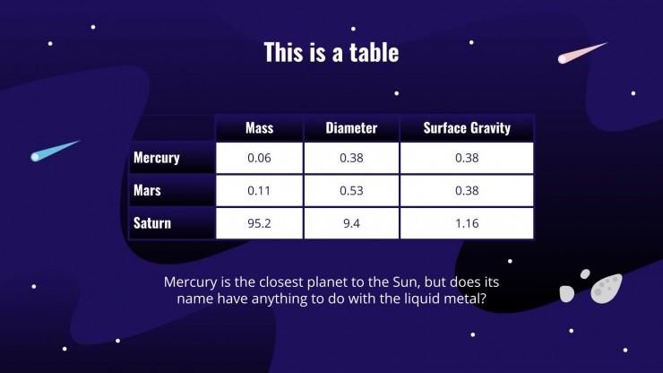 International Astronomy Day presentation template