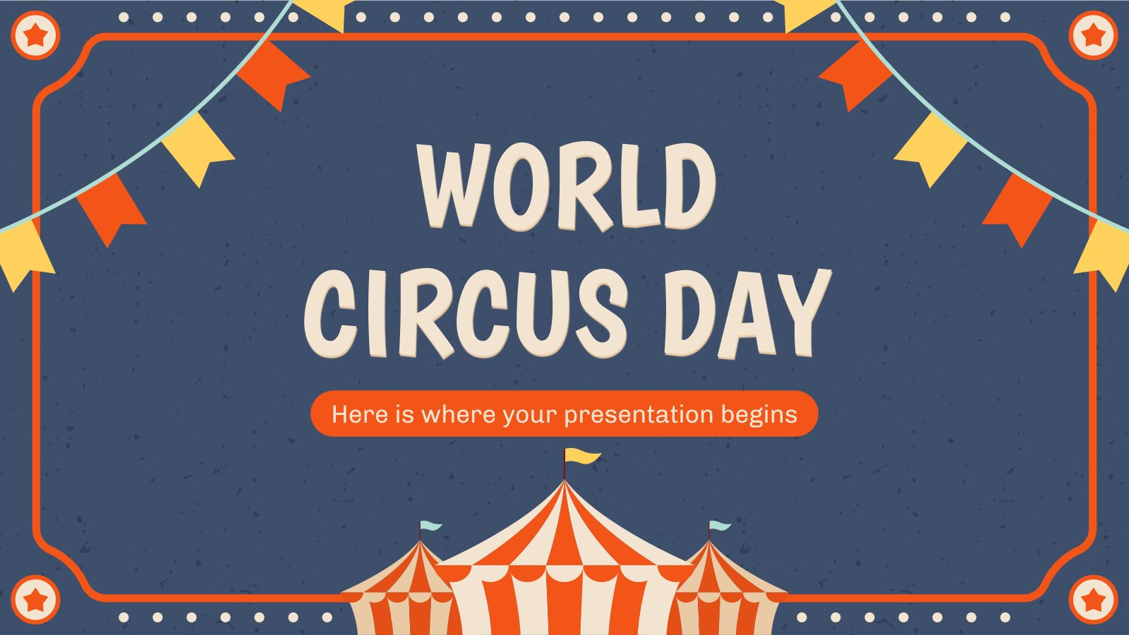 World Circus Day presentation template