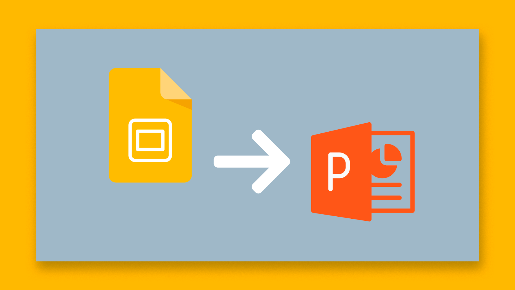 How To Convert Presentations From Google Slides To Powerpoint Tutorial