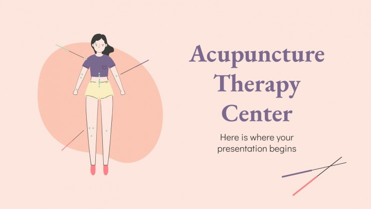 Acupuncture Therapy Center presentation template