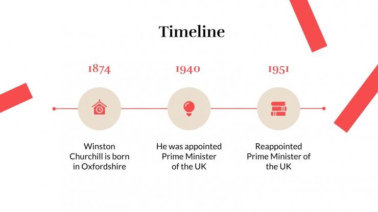 Modelo de apresentação Dia de Winston Churchill