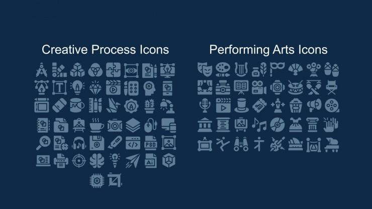 Journée mondiale de l'art : Modèles de présentation