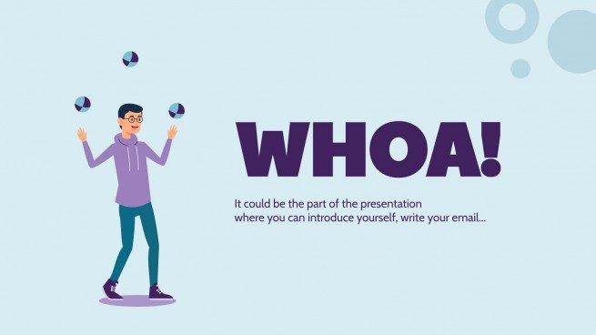 Modelo de apresentação Dia Internacional do Malabarista