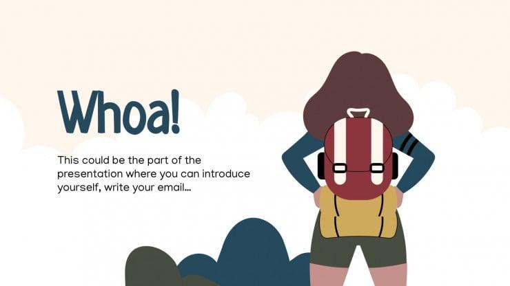 Plantilla de presentación Día de la Líder de las Girl Scouts