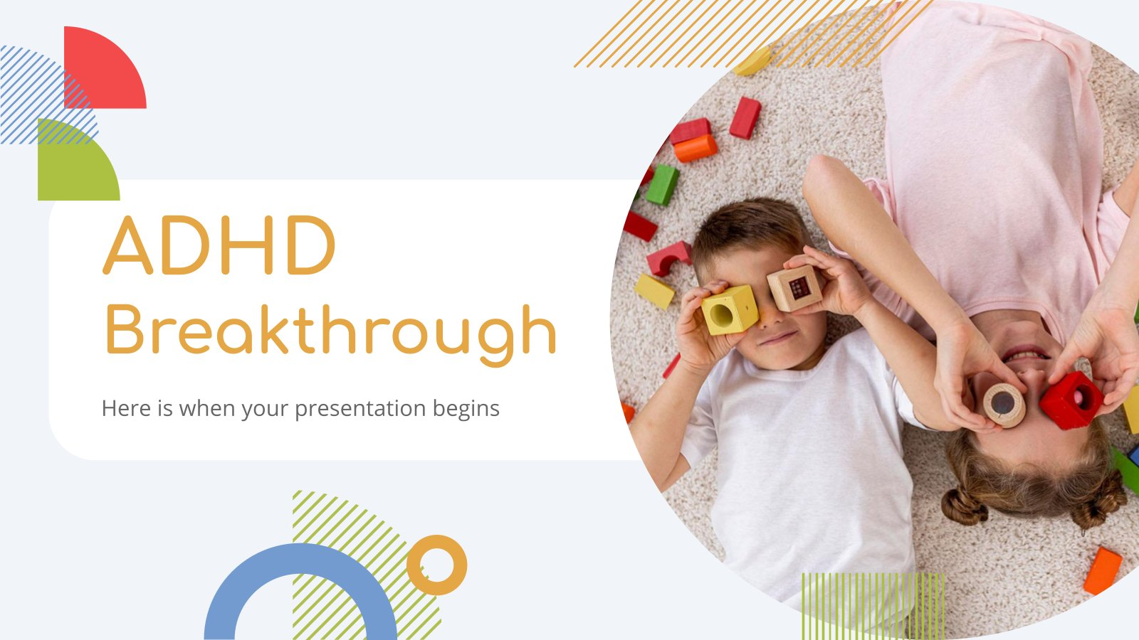 ADHD Breakthrough presentation template