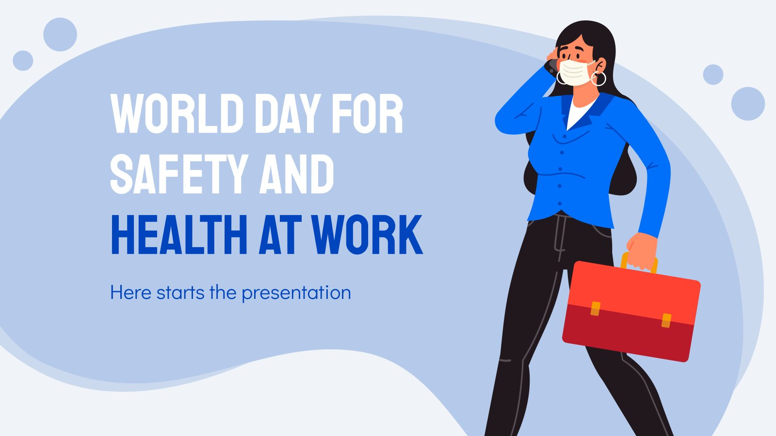 World Day for Safety and Health at Work presentation template