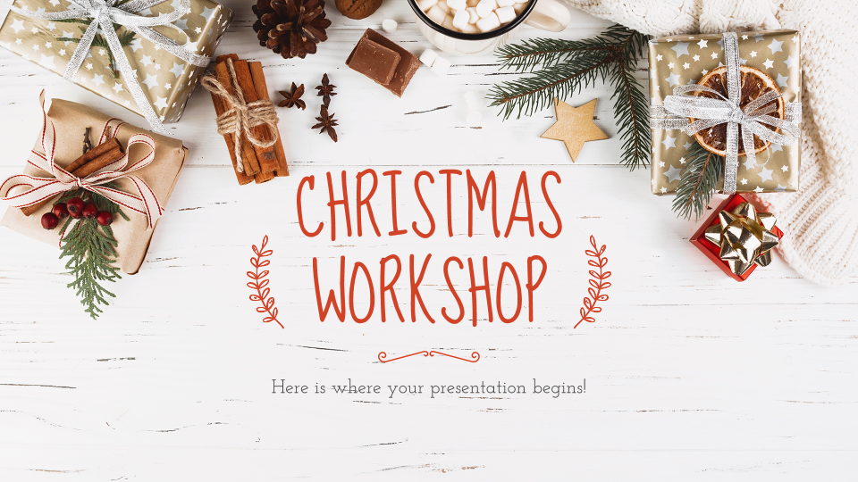 Christmas Workshop presentation template