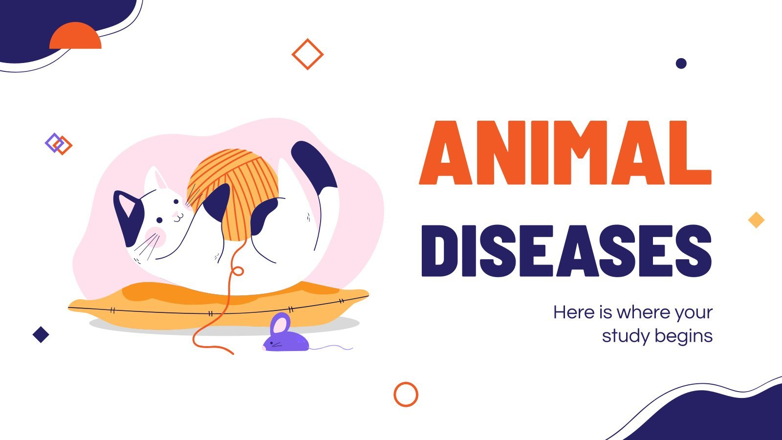 Maladies des animaux : Modèles de présentation