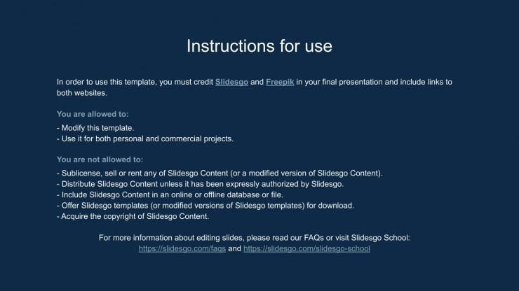 COVID-19 Infographics presentation template