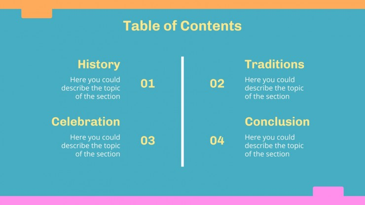 Plantilla de presentación Semana de organizar los ficheros