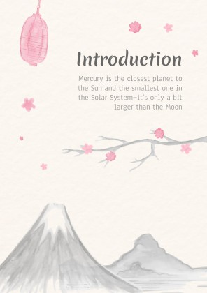 International Haiku Poetry Day presentation template