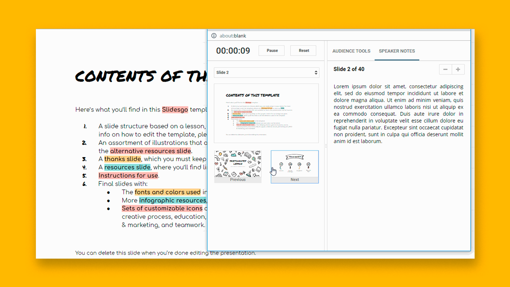 How to Add and Work with Speaker Notes in Google Slides - Tutorial