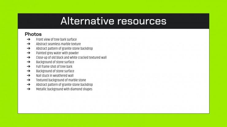 Pias Company Profile presentation template